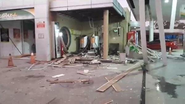 Criminosos explodem caixa eletrônico do BB no Sul do Piauí e fazem reféns