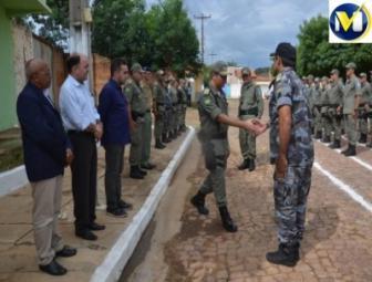 Polícia Militar de Oeiras tem novo comandante