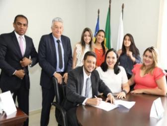 Caio César Carvalho toma posse como Conselheiro Estadual da OAB/Piauí