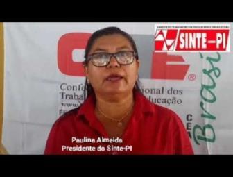 Presidente do SINTE denuncia governador Wellington Dias no TCE