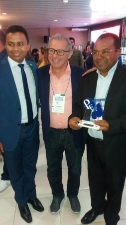 Prefeito Veríssimo Siqueira é o vencedor da etapa estadual do Prêmio Sebrae Prefeito Empreendedor