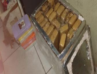 Operação policial apreende grande quantidade de drogas na rodoviária de Oeiras