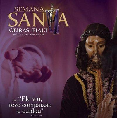 Semana Santa em Oeiras de 02/04/2020 – 12/04/2020; Confira a programação