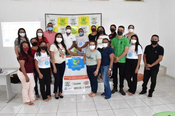 Selo UNICEF municipal realiza reunião com equipe gestora da Educação de Santa Rosa