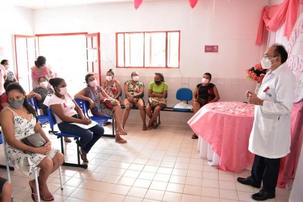 Outubro Rosa: Prefeitura de Santa Rosa realiza atividade voltada para saúde da mulher e combate ao câncer de mama