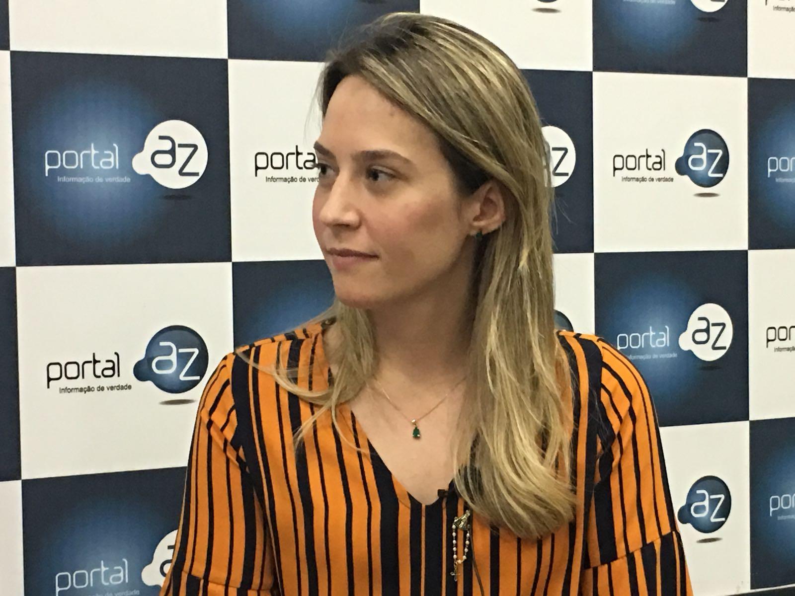 Candidata a vice de Dr. Pessoa, Vanessa Tapety,  promete ir em busca do apoio do MDB