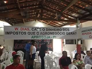 Visita do Governador Wellington Dias a Uruçuí é marcado manifestação, cobranças e protestos